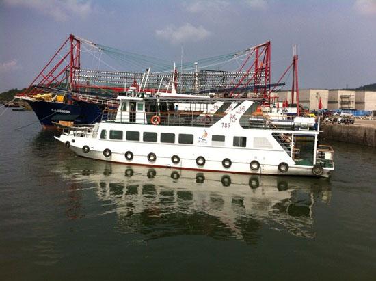 北海海上观光游游船展示