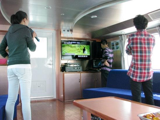 北海海上观光游内部展示