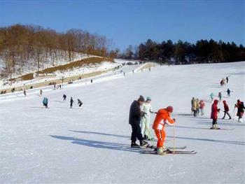 齐陵蓝溪国际滑雪场戏雪区