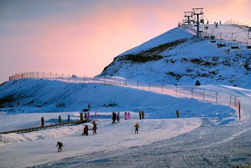 青岛金山滑雪场雪道