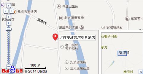 安波云河温泉地理位置地图展示