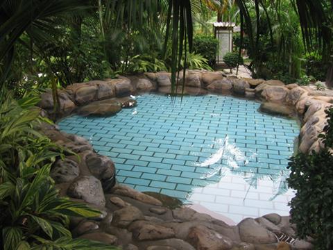 绿中海温泉的安神泉