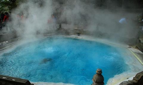 绿中海温泉的补气泉