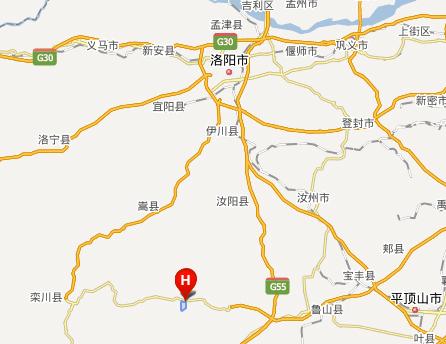 木札岭速龙滑雪场地址地图和交通线路