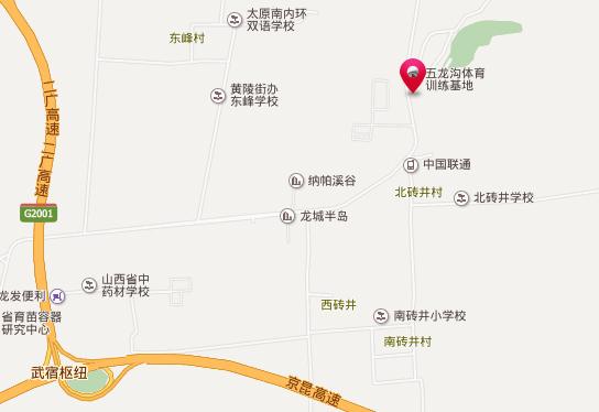五龙滑雪场地址和交通地图展示