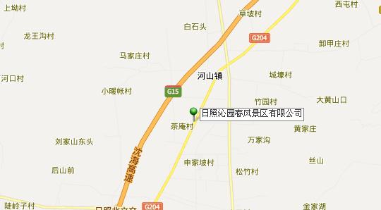 沁园春滑雪场地理地址地图