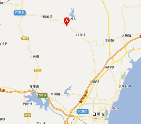 五莲山滑雪场地理位置百度地图展示