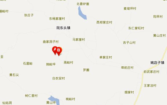 沂水地下画廊滑雪场地址地图展示