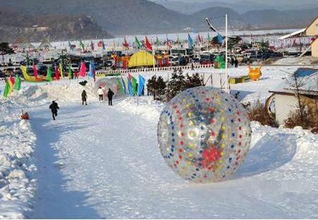 新西兰雪地悠玻球