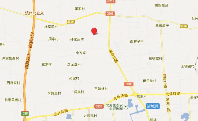 杜受田故居地理位置地图展示