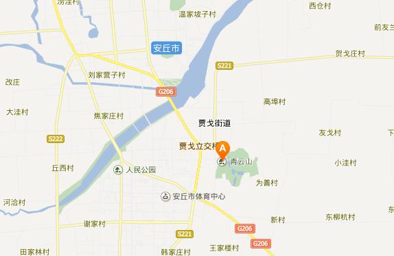 青云山地址地图