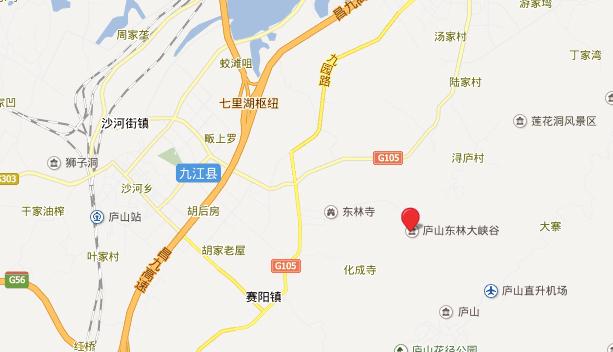 庐山地理位置和风景