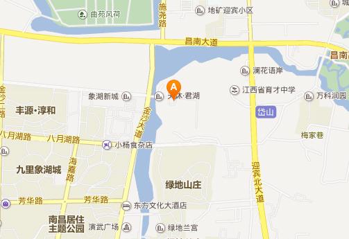 南昌天沐温泉地址地图