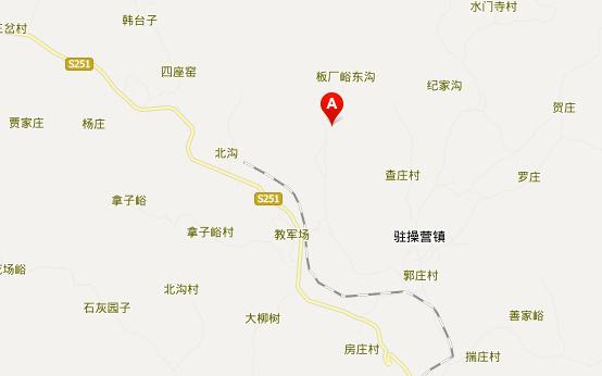 秦皇岛板厂峪地址地图展示