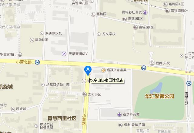 汉拿山汤泉国际酒店地址地图和交通线路