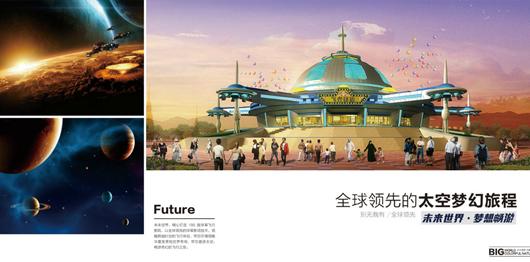 未来世界——亚洲最大180°球幕4d飞行影院