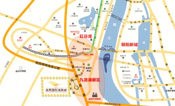 金燕温泉地址地图及交通线路