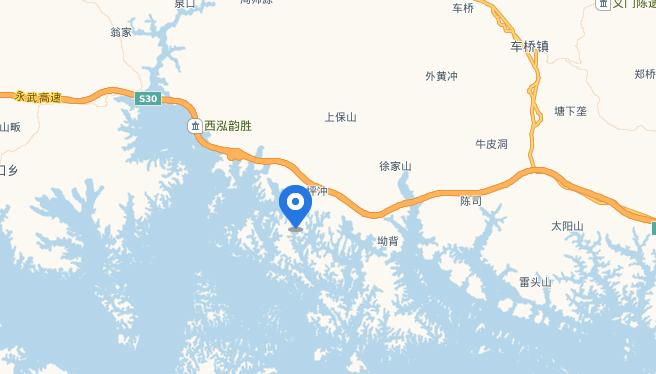 观湖岛的地址地图