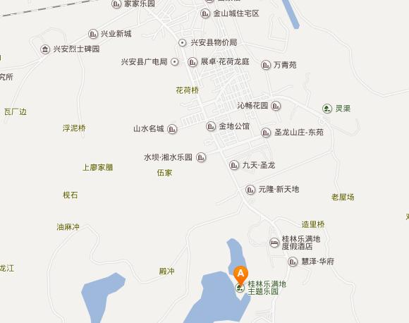 公交路线:可到桂林汽车站