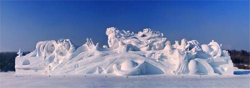 雪博会的主题的主塑星河畅想