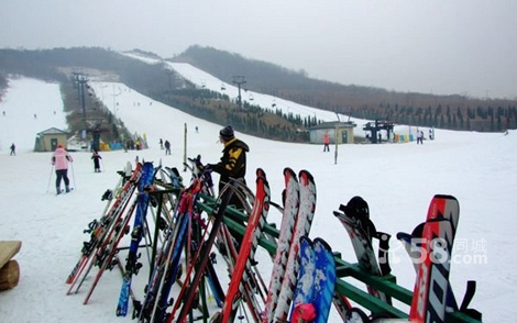 国际知名品牌的滑雪板