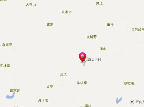 源头古村地址地图