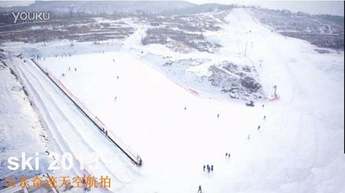 专业的初级、中级滑雪道