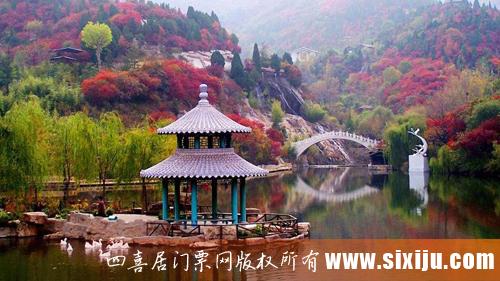 红叶谷生态文化主题外景