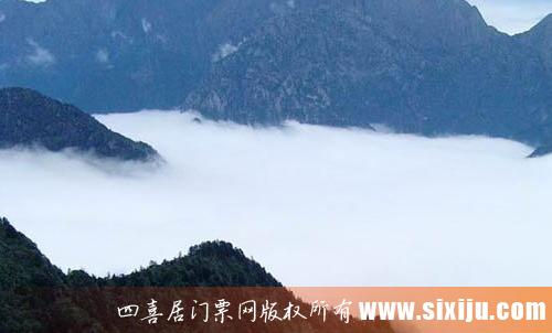 九峰山清幽的空气
