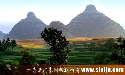 贵州双乳峰风景图5