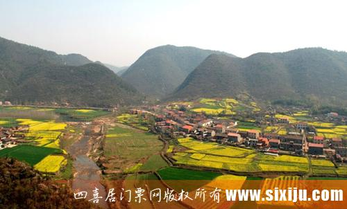 南漳春秋寨景区图