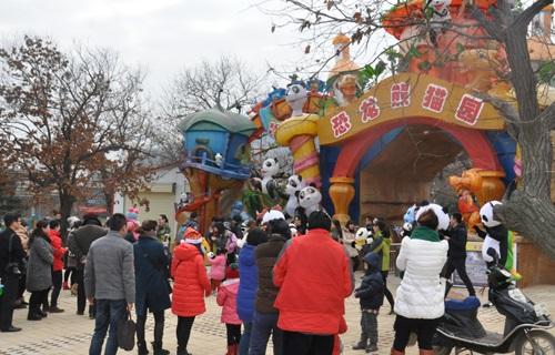 秦岭野生动物园步行区