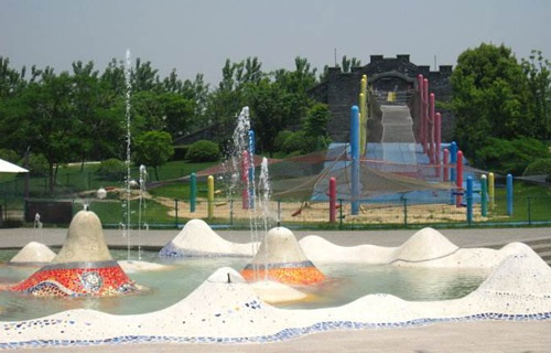 上海月湖雕塑公园风景图