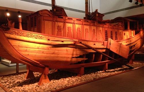 中国航海博物馆展馆图