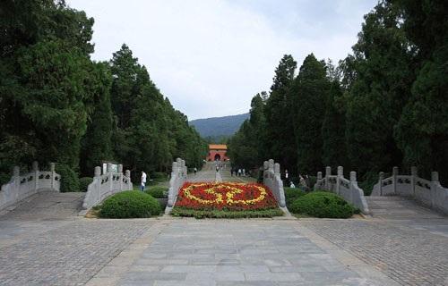 南京明孝陵景区图