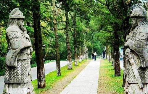 明孝陵景区图片