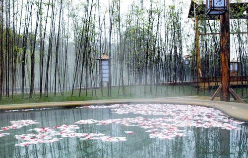 南京大吉温泉度假村室外温泉
