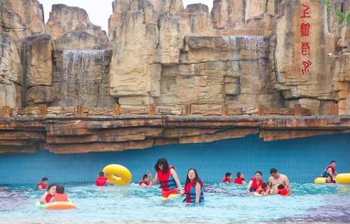 藏马山丹溪温泉水上乐园