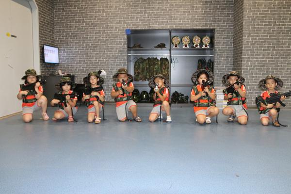 成长湾儿童独立世界的小战士们